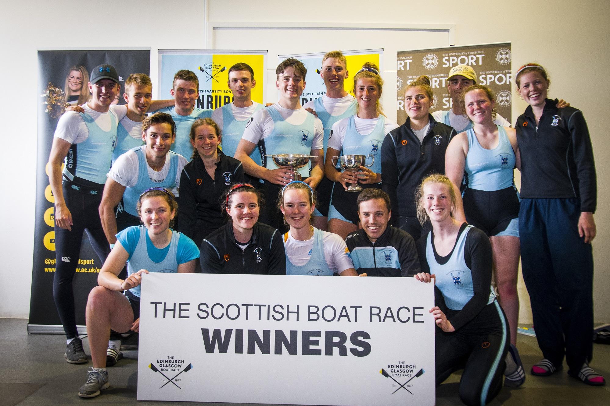 EUBC Retain The Scottish Boat Race Title